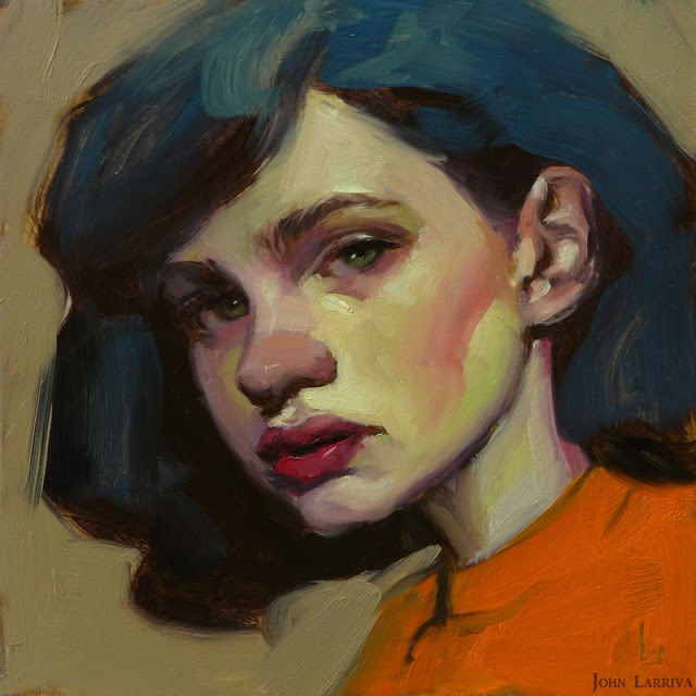 """Sweet Sad"" original fine art by John Larriva"