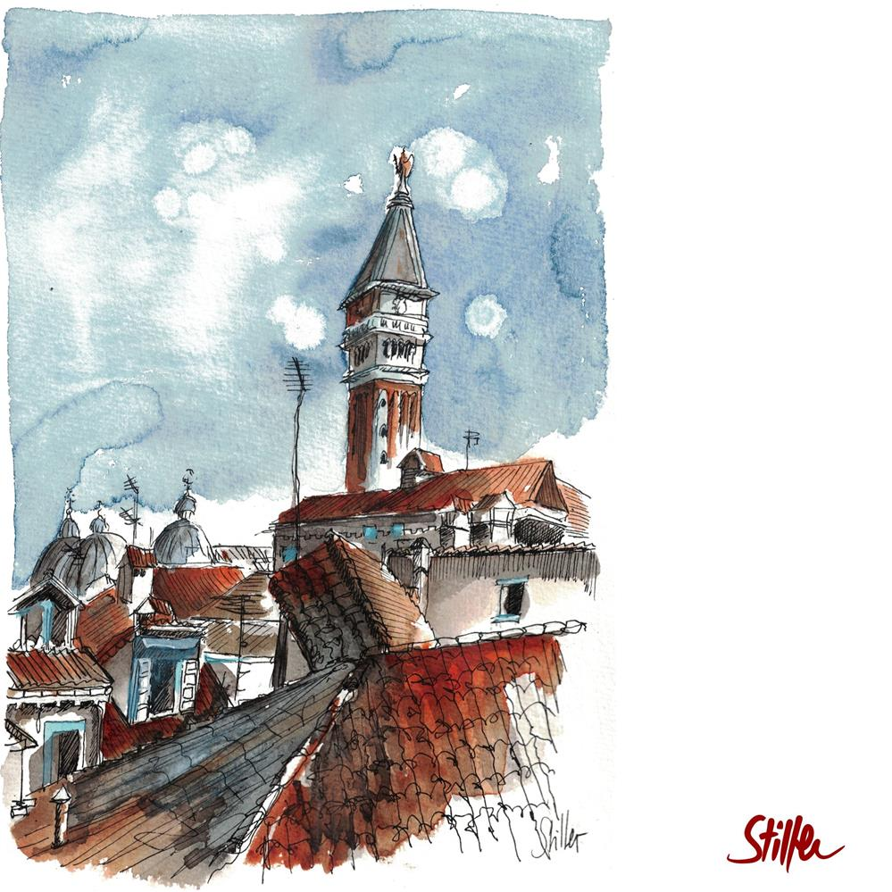 """3618 San Marco"" original fine art by Dietmar Stiller"