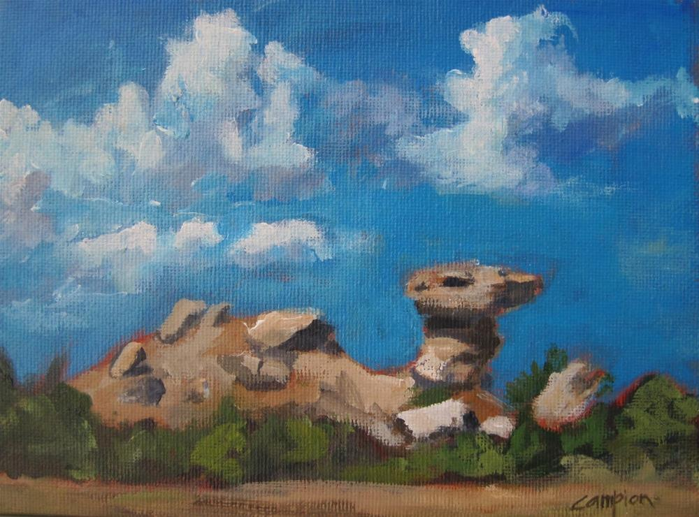 """149 Camel Rock"" original fine art by Diane Campion"