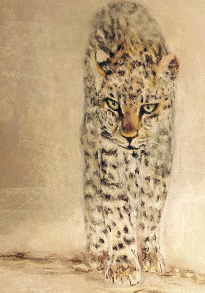 """""""The young one"""" original fine art by Rentia Coetzee"""