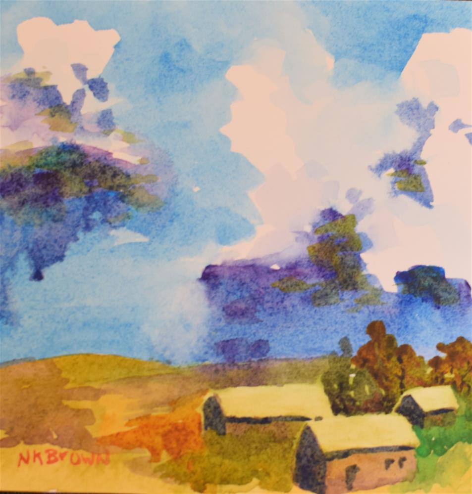 """#3"" original fine art by Nancy Brown"