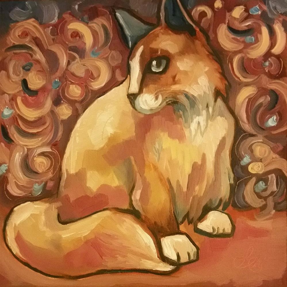 """Swirls"" original fine art by Leni Tarleton"