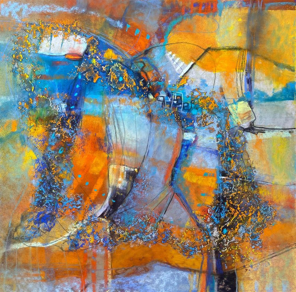 """Brouhaha"" original fine art by Karen O'Brien"