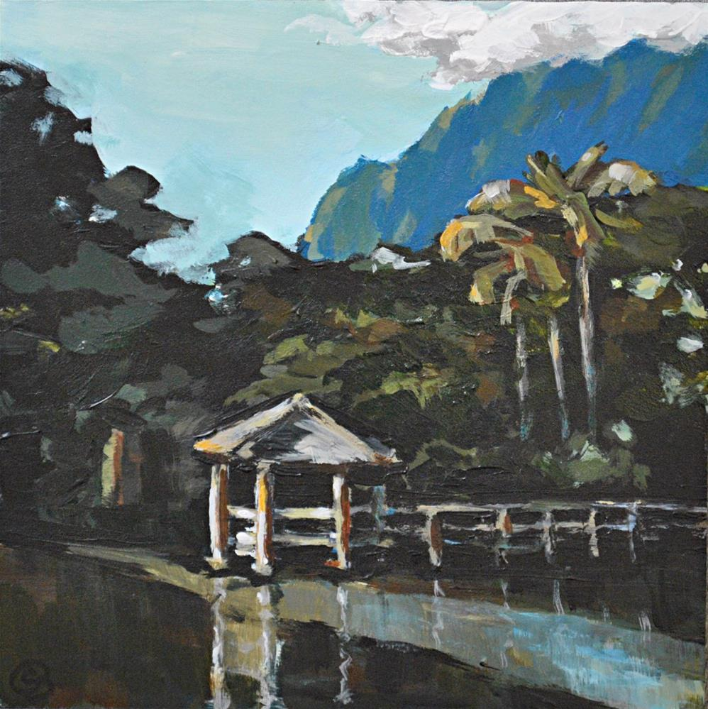 """""""Haiku Gardens"""" original fine art by Shari Buelt"""