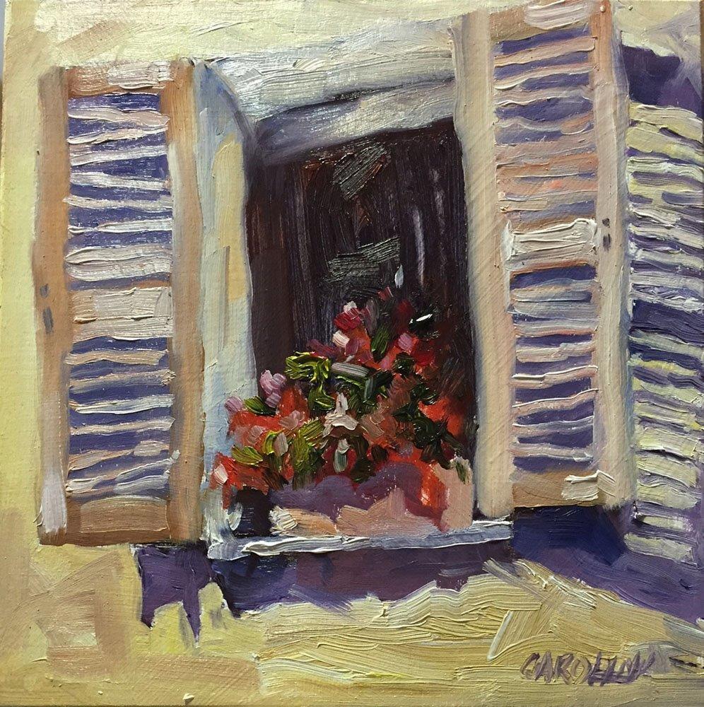 """""""French Window"""" original fine art by Carolynn Doan"""