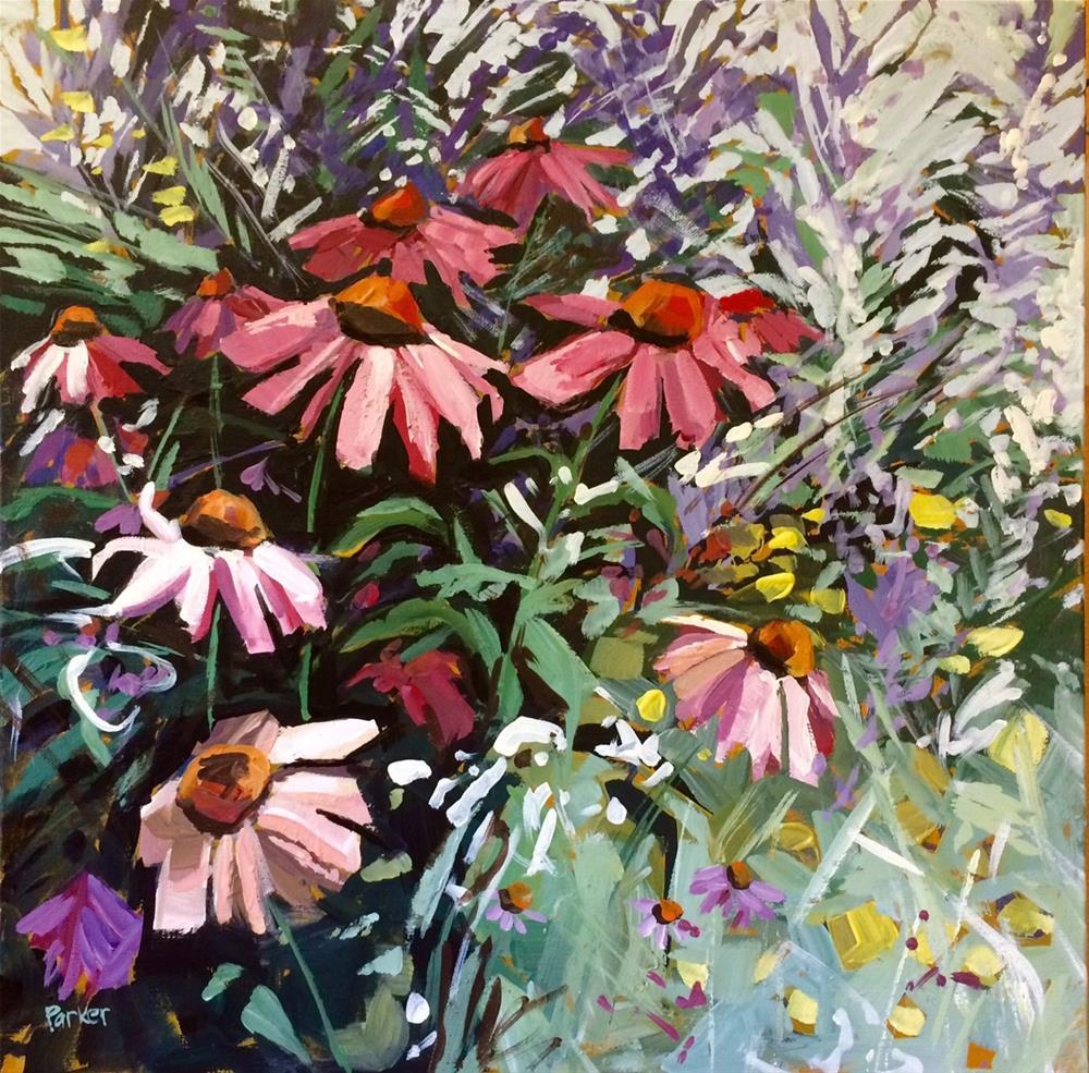 """Wild Natives"" original fine art by Teddi Parker"