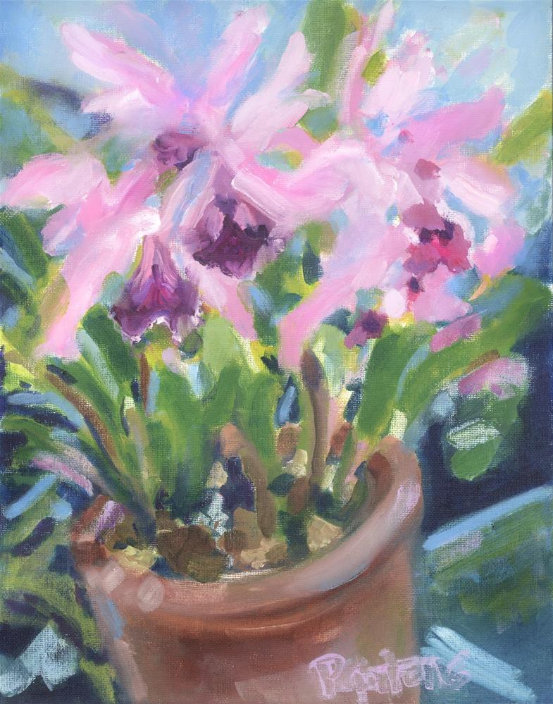 """Orchid Room"" original fine art by Pamela Gatens"