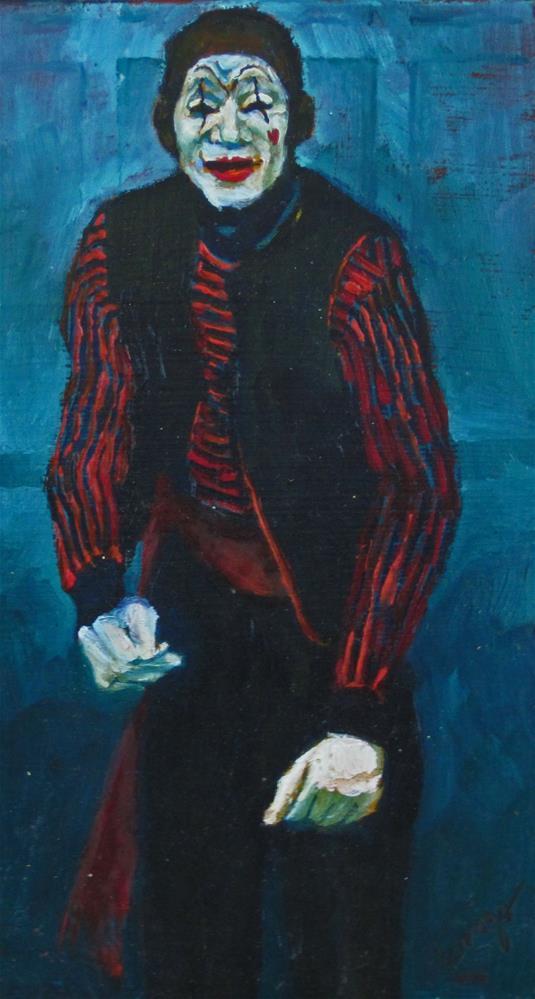 """The Approach"" original fine art by Sharman Owings"