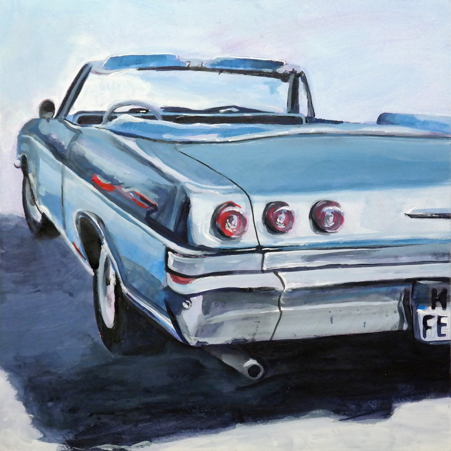 """2694 Chevy Impala"" original fine art by Dietmar Stiller"