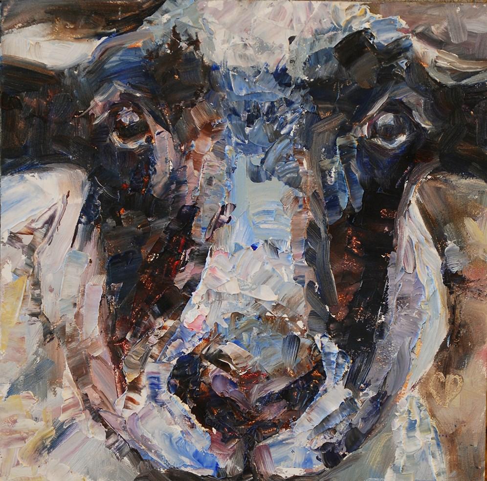 """""""Baah!"""" original fine art by Carol DeMumbrum"""