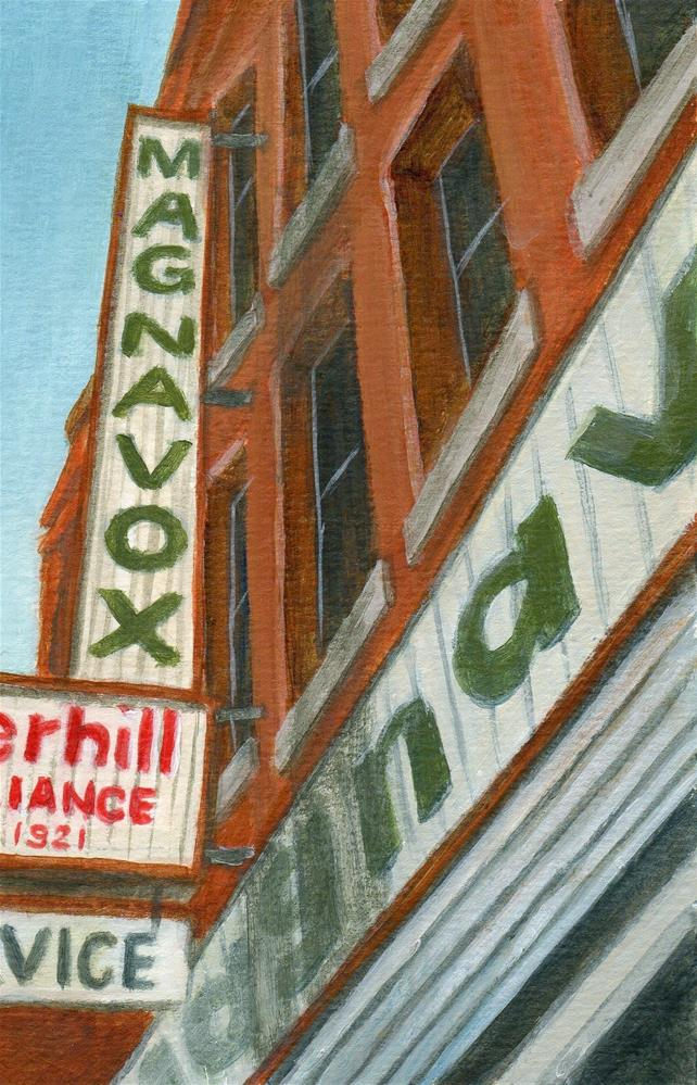 """Haverhill Appliance"" original fine art by Debbie Shirley"