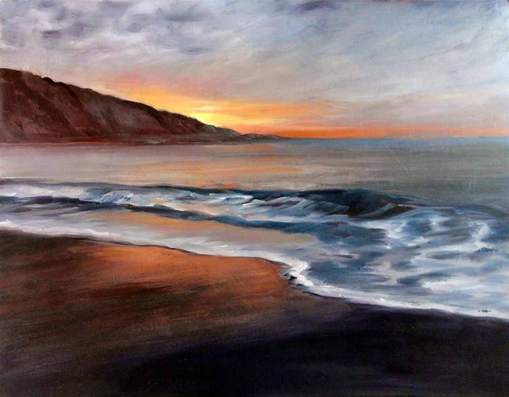 """""""Daybreak: A New Beginning"""" original fine art by Cietha Wilson"""