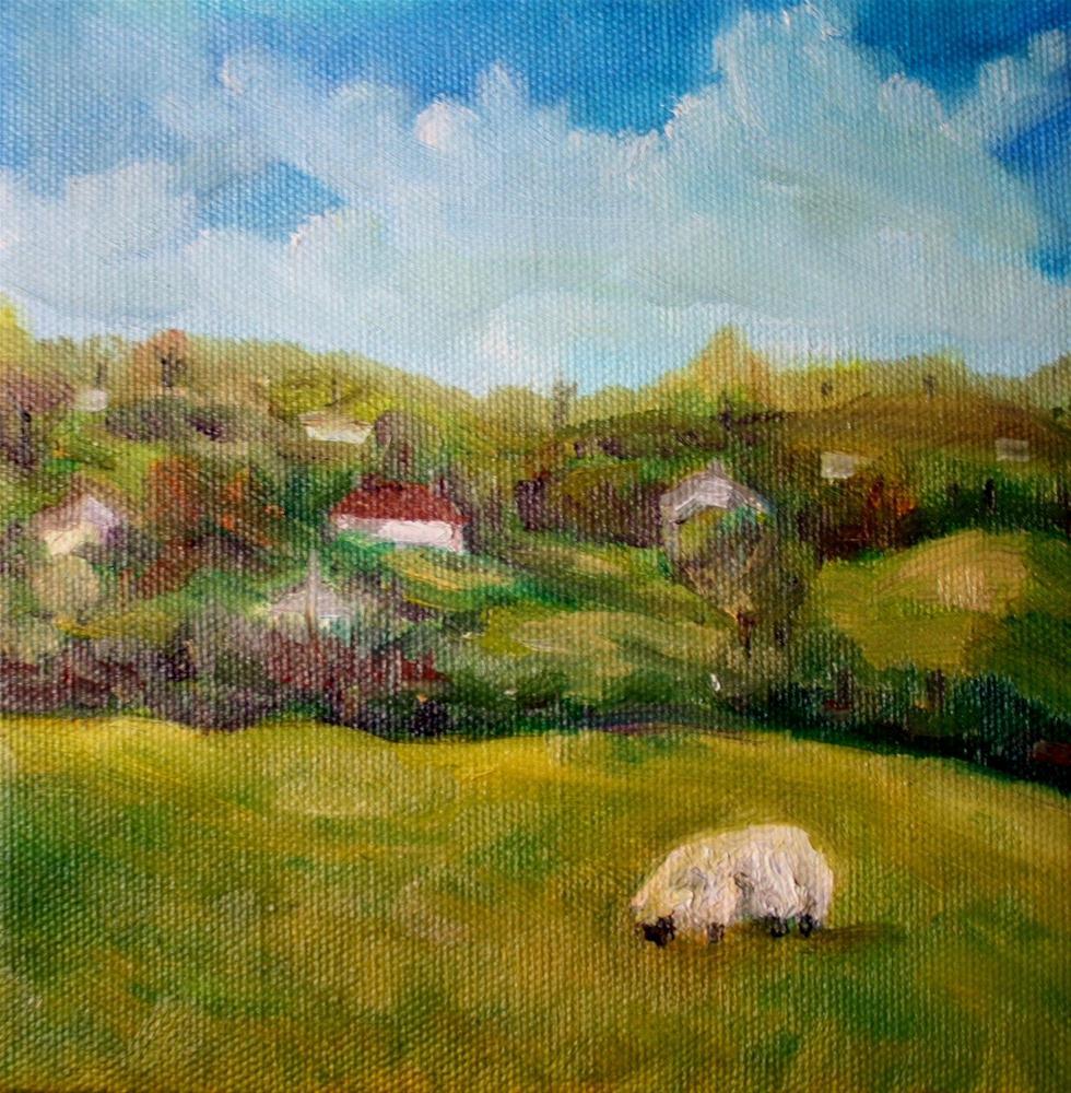 """Ireland in Spring"" original fine art by Maggie Flatley"