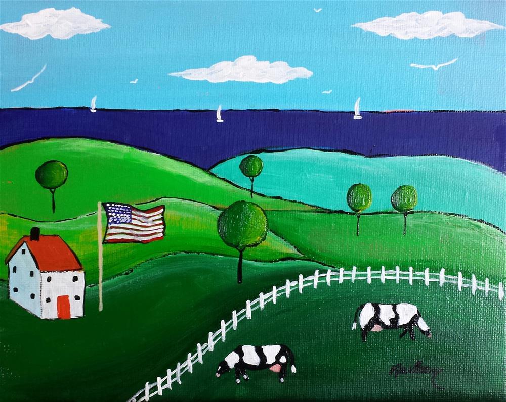 """Life is Good"" original fine art by Karleen Kareem"