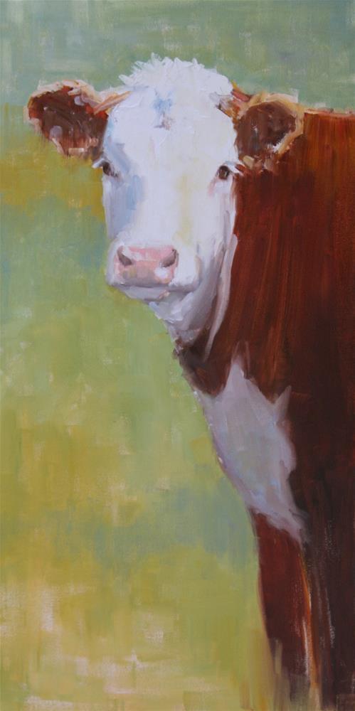 """a friend of mine"" original fine art by Carol Carmichael"