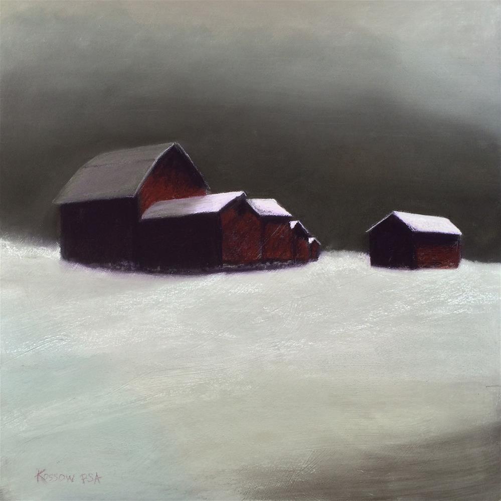 """To Gallupville"" original fine art by Cristine Kossow"