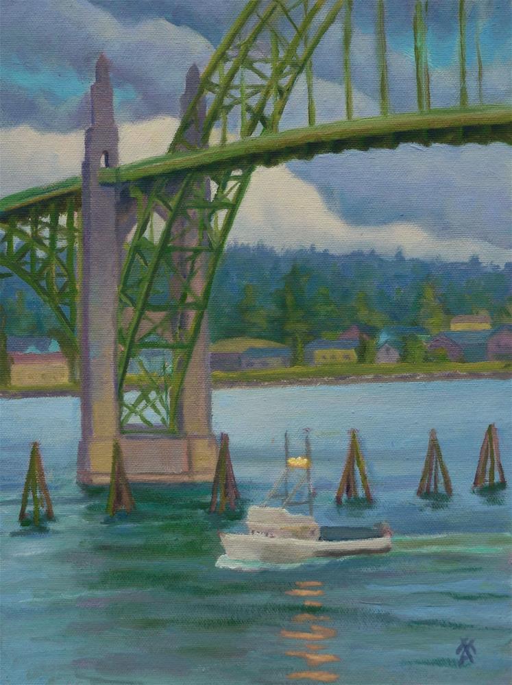 """Coming Home"" original fine art by Mark Allison"