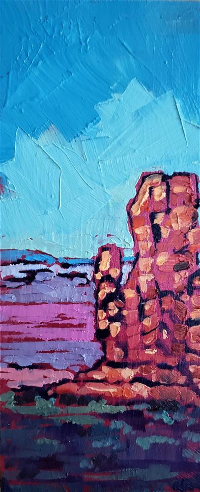 """Touching the Sky"" original fine art by Bhavna Misra"