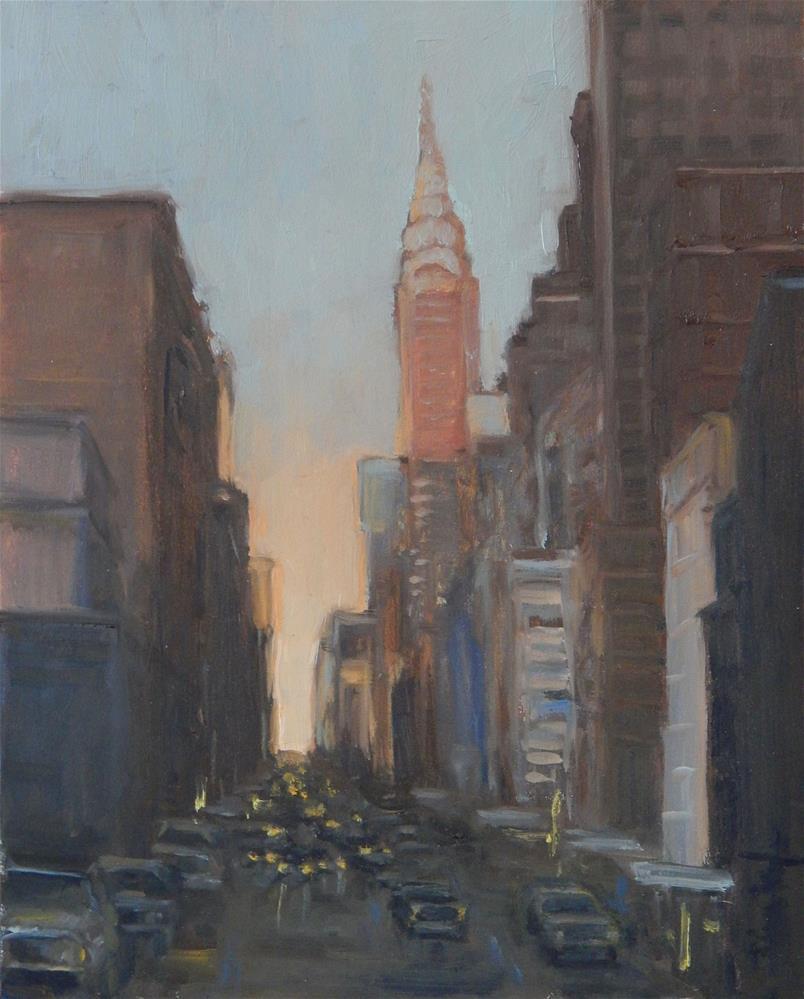 """Empire Aglow"" original fine art by Lisa Kyle"