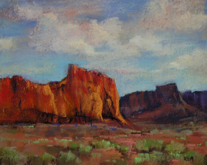 """Plein Air Tip #1  Mounting Pastel Paper"" original fine art by Karen Margulis"