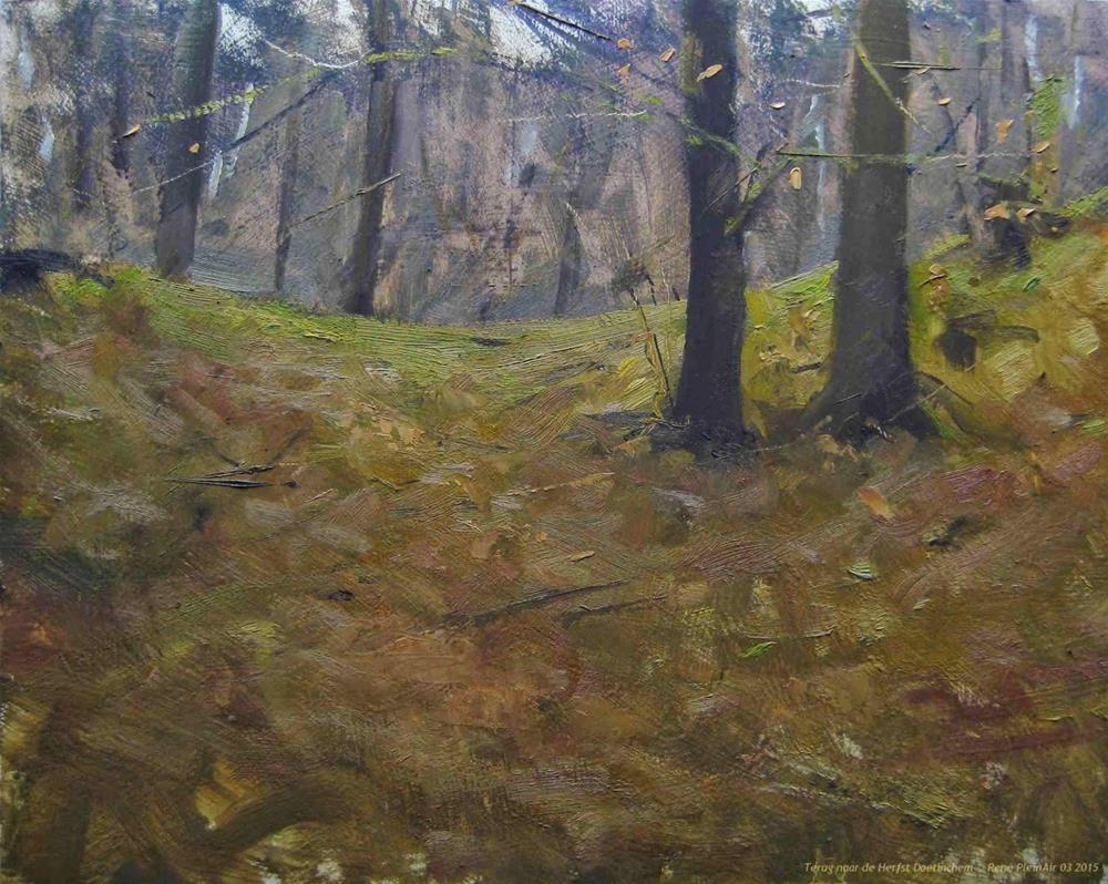 """Autumn is back!!"" original fine art by René PleinAir"