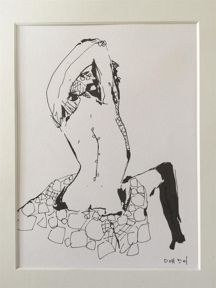"""562 Private Dancer"" original fine art by Jenny Doh"