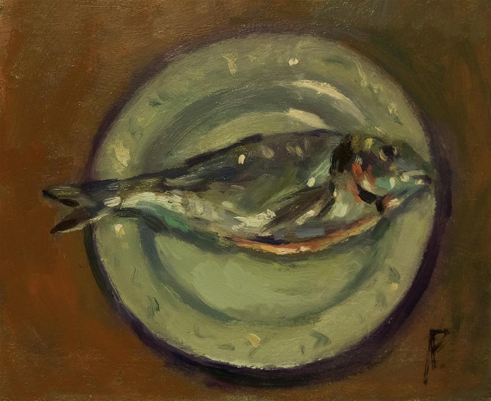 """'Billy Bream'"" original fine art by Andre Pallat"