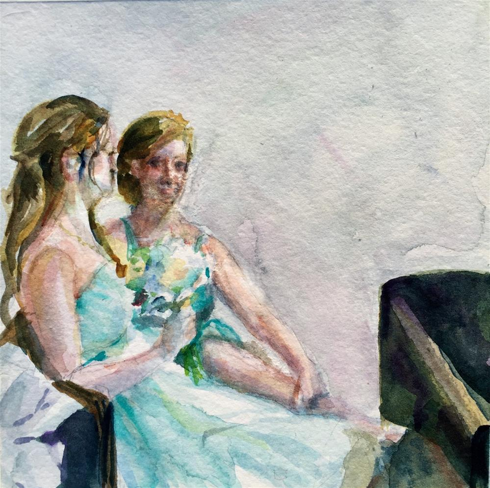 """Wedding"" original fine art by Jean Krueger"