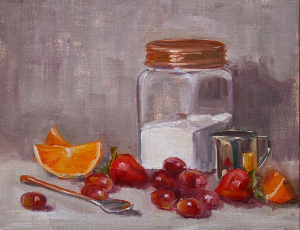 """""""sugar jar"""" original fine art by Carol Carmichael"""