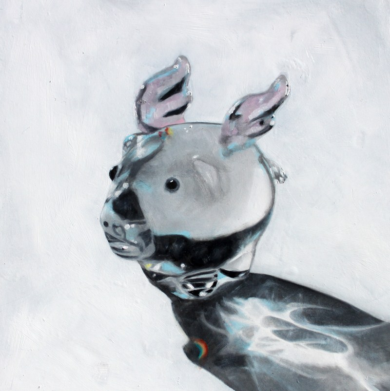 """Glass Winged Pig"" original fine art by Lauren Pretorius"
