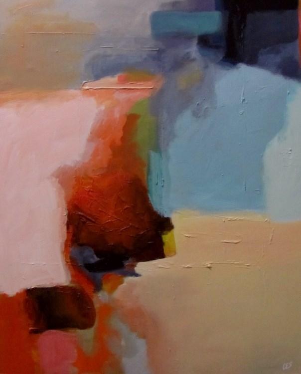 """""""Breaking Rocks"""" original fine art by ~ces~ Christine E. S. Code"""