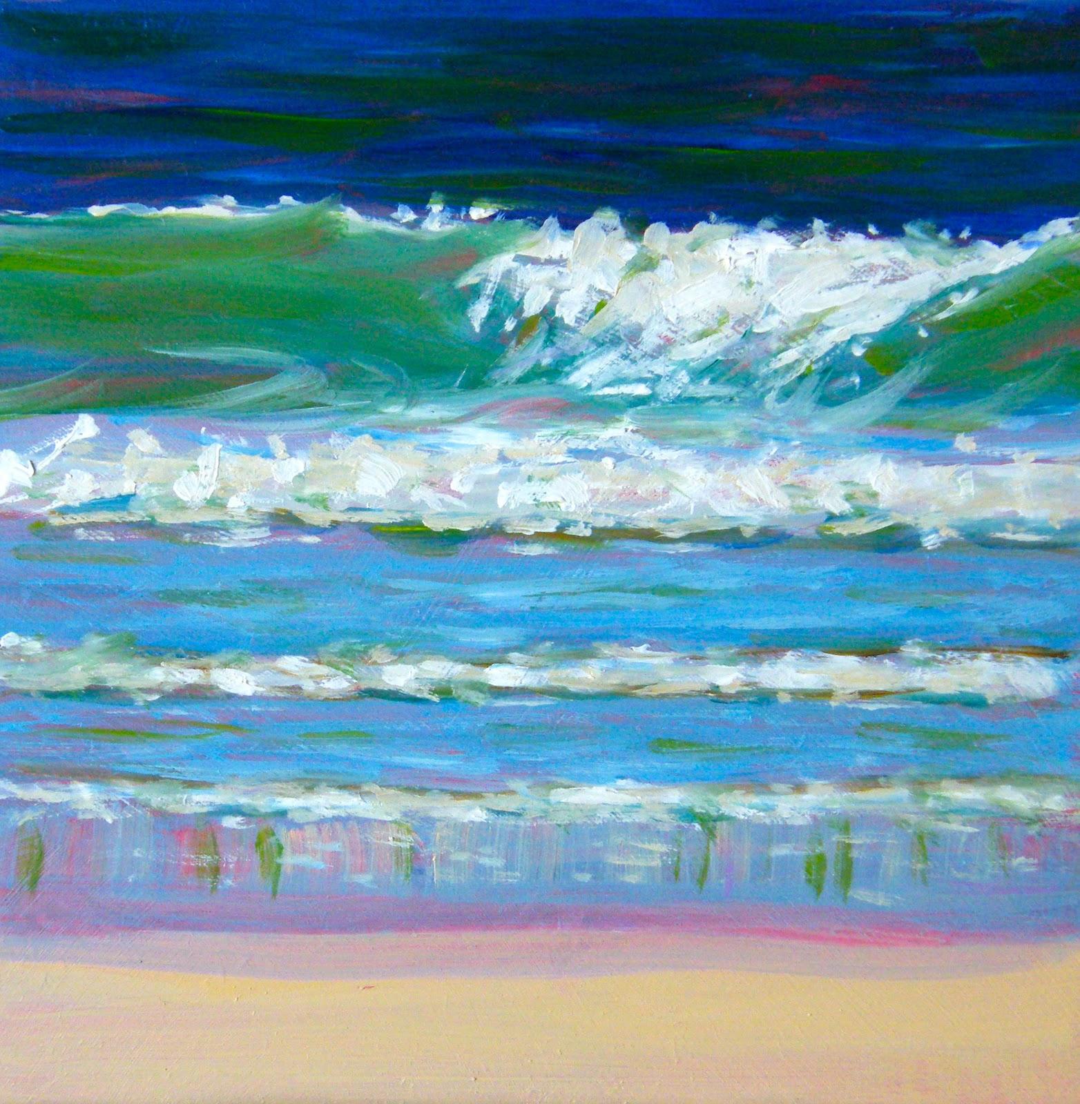 """""""Wavelength"""" original fine art by Ken Devine"""