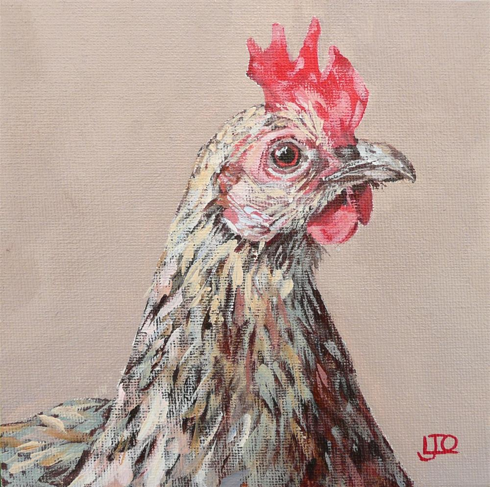 """Henrietta"" original fine art by Leanne Owen"