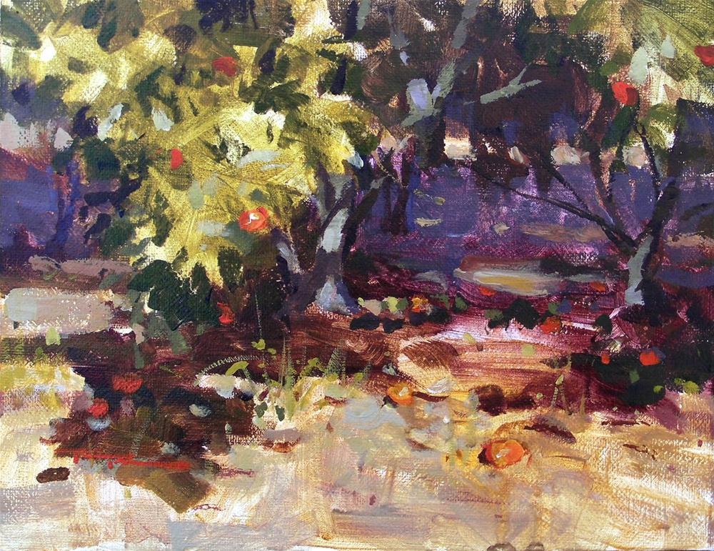 """Harvest"" original fine art by Richard Robinson"