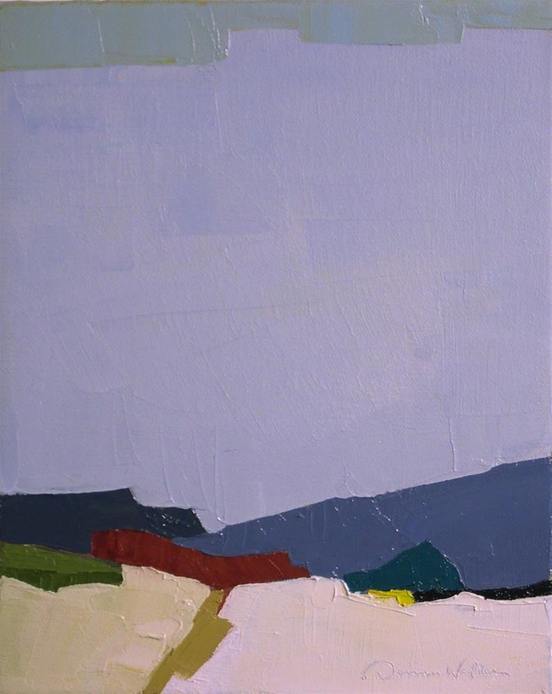 """Horizon II"" original fine art by Donna Walker"