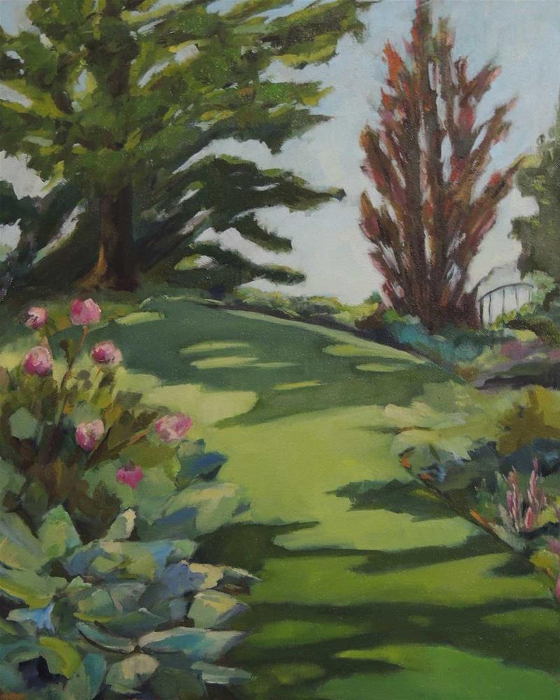 """""""Chanticleer"""" original fine art by Merle Manwaring"""