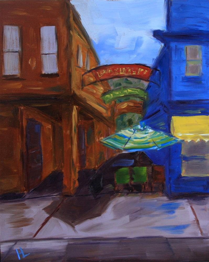 """Lucksinger Lane"" original fine art by Heather Lehmberg"
