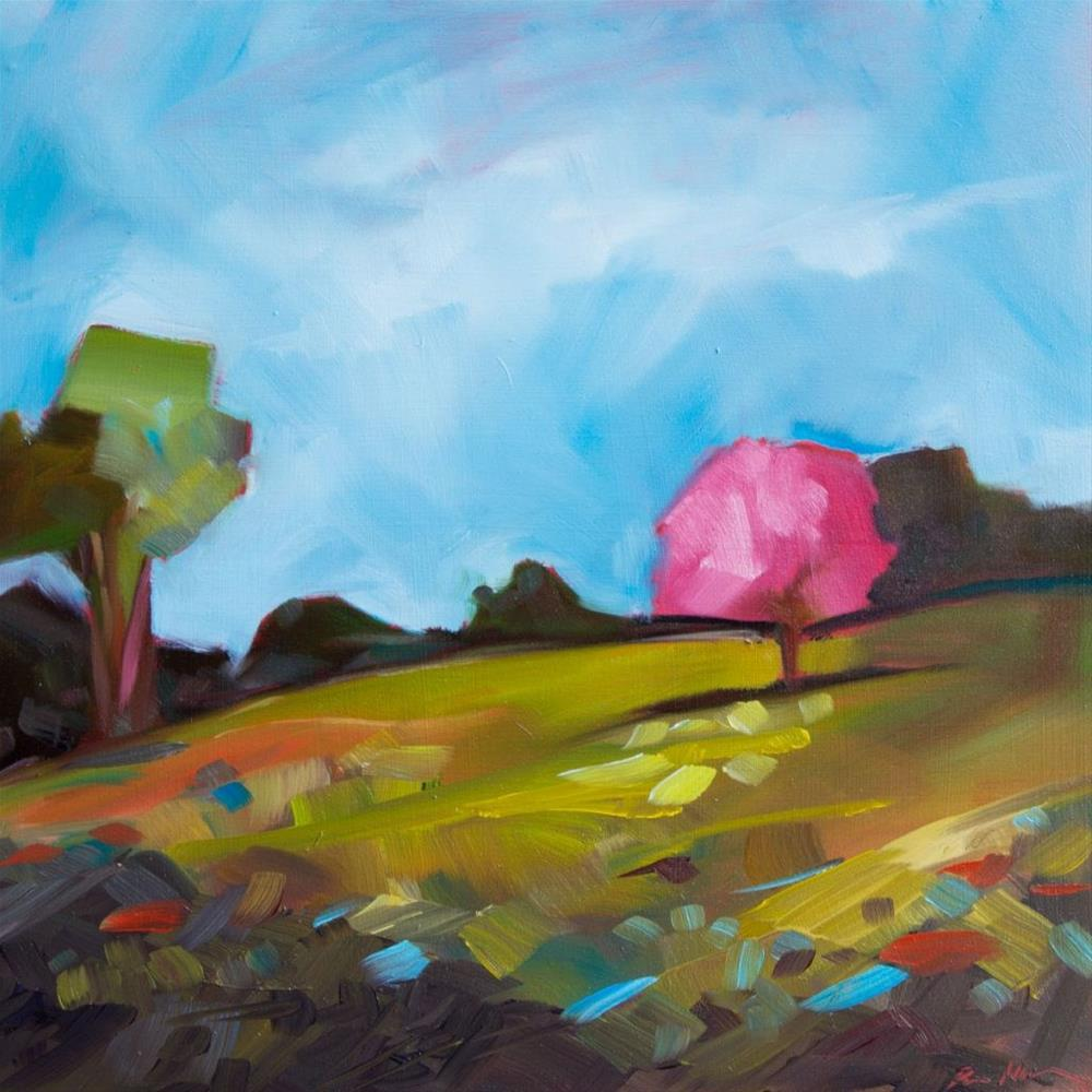 """0383: On the Way to Veranda Park"" original fine art by Brian Miller"