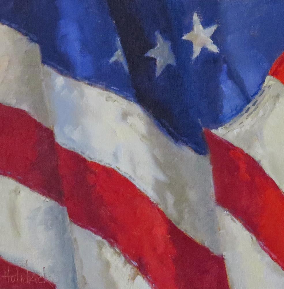 """Veteran's Day #3"" original fine art by Pam Holnback"