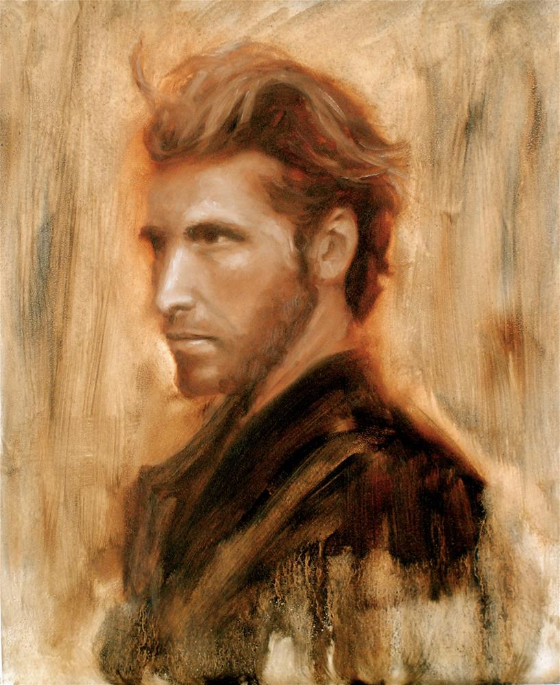 """Tortured Romantic Hero"" original fine art by Kelly Berkey"