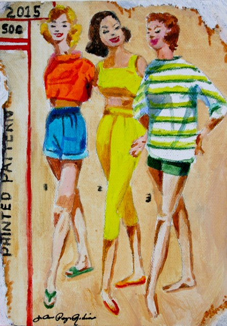 """Vintage Summer"" original fine art by JoAnne Perez Robinson"