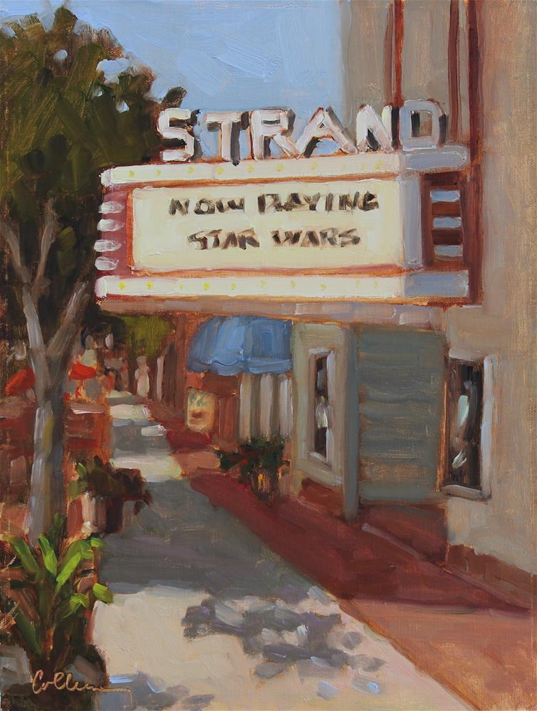 """""""The Strand"""" original fine art by Colleen Parker"""
