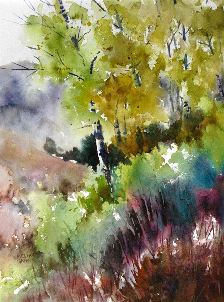 """Edge of the Woods"" original fine art by Melissa Gannon"