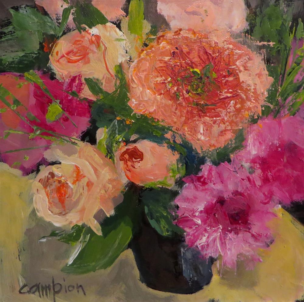"""""""758 Fresh Start"""" original fine art by Diane Campion"""