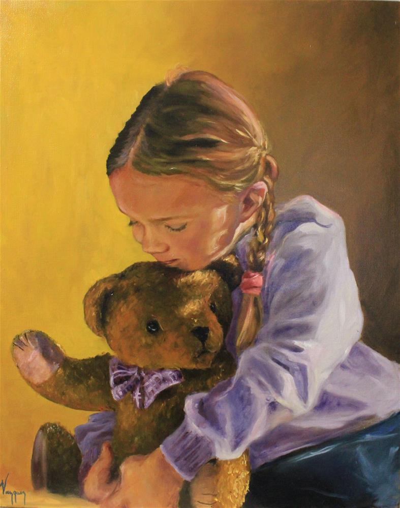 """""""A warm embrace"""" original fine art by Marco Vazquez"""