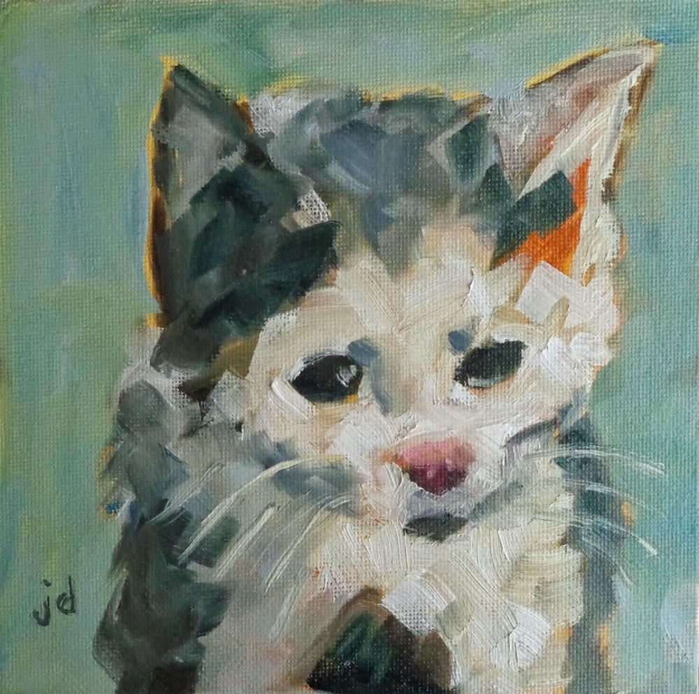 """Subdued"" original fine art by Jean Delaney"