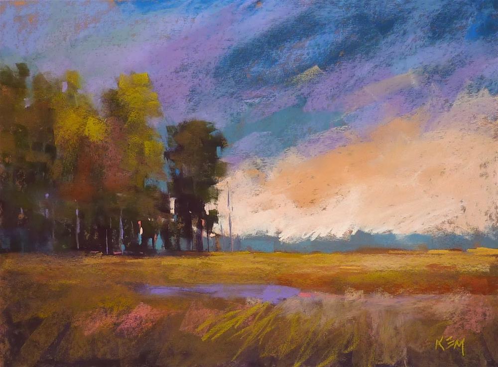 """A Substitute for Wallis Pastel Paper"" original fine art by Karen Margulis"
