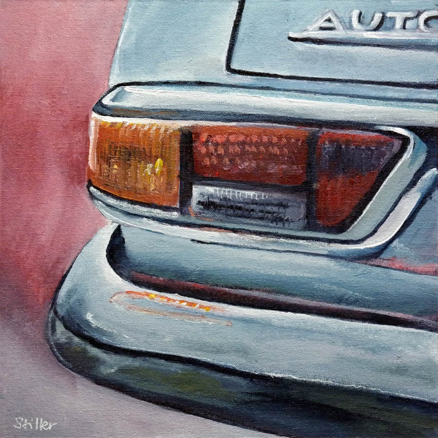"""2281 Automatic"" original fine art by Dietmar Stiller"