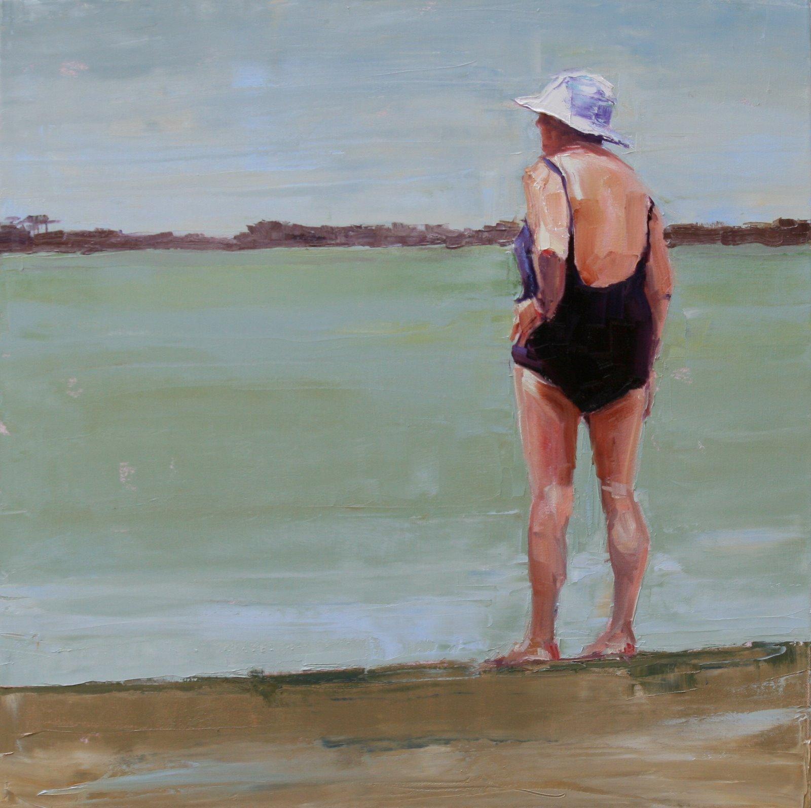 """rapt"" original fine art by Carol Carmichael"