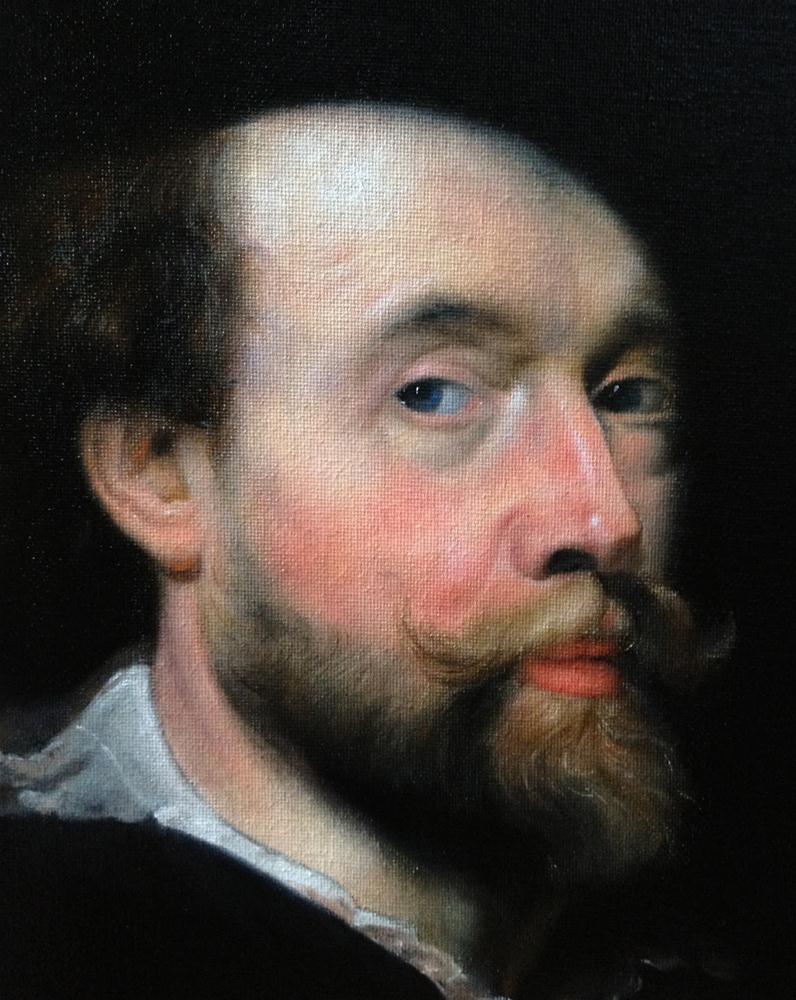 """""""Peter Paul Rubens"""" original fine art by Jonathan Aller"""